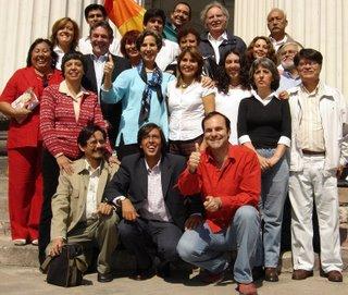 CANDIDATAS Y CANDIDATOS AL COMITÉ CENTRAL DE ELECCIÓN NACIONAL (cédula de votación de color celeste)